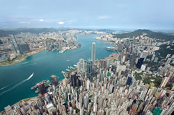 Photo: The Panoramic view of Hong Kong